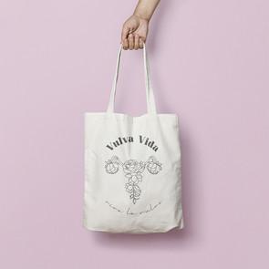 Vulva Vida Tote Bag