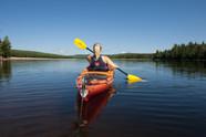 Kayak baie du milieu