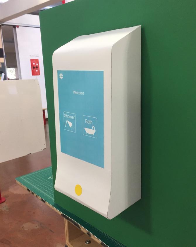 The Concept: Interactive Shower Dispenser