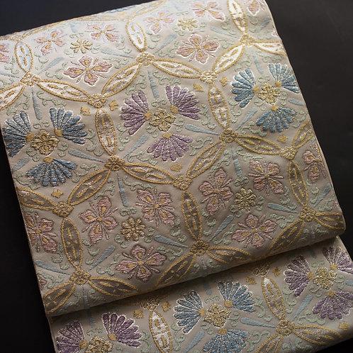 袋帯 | おだわら織物 六宝文
