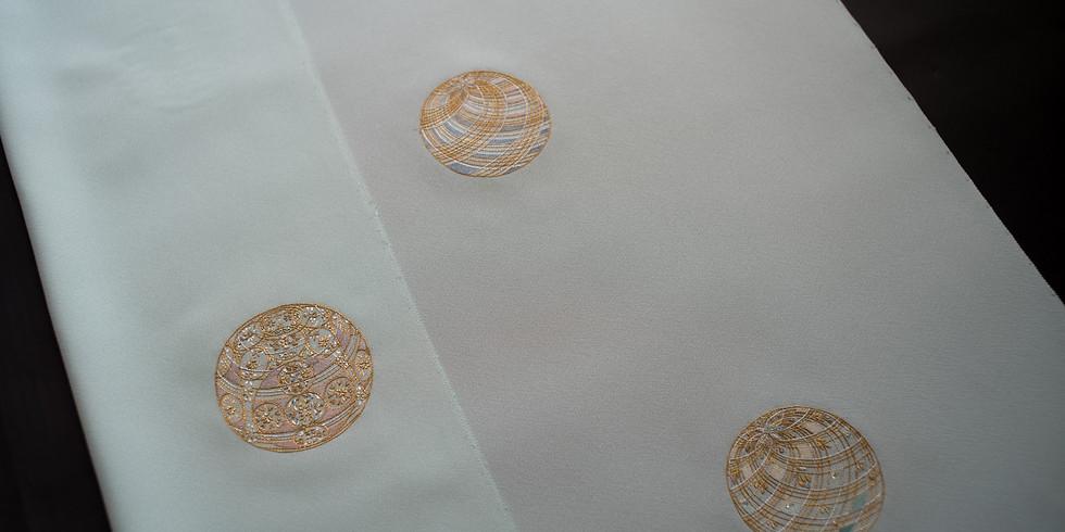 京きもの蓮佳 企画展 【 染と繍 きだ -今に息づく伝統の手仕事- 】