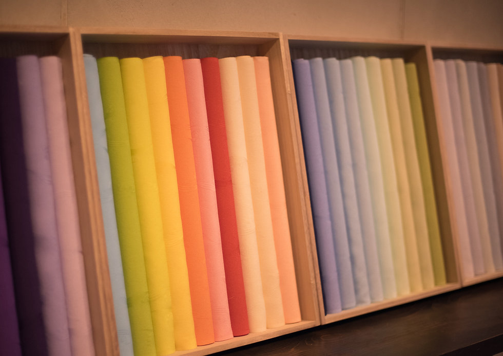72色の色見本