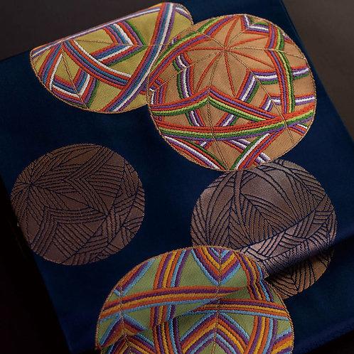 袋帯 | 小田原織物 手毬文