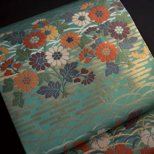 袋帯 | 小田原織物 秋草文