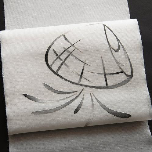 染帯 | ひと筆描き 貝