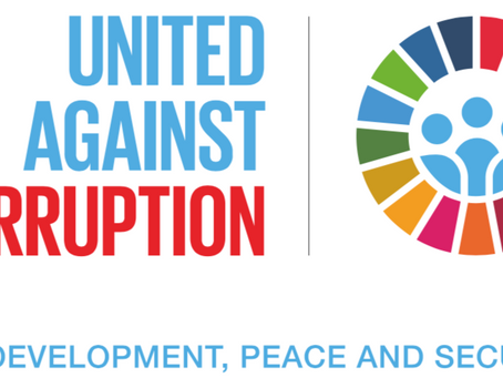 December 9th is International Anti-Corruption Day