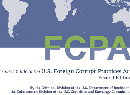 DOJ & SEC Update FCPA Resource Guide