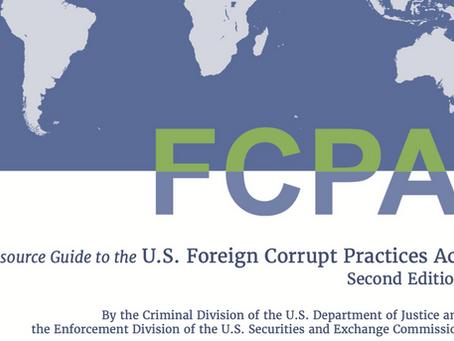 DOJ & SEC Update FCPA Resource Guide