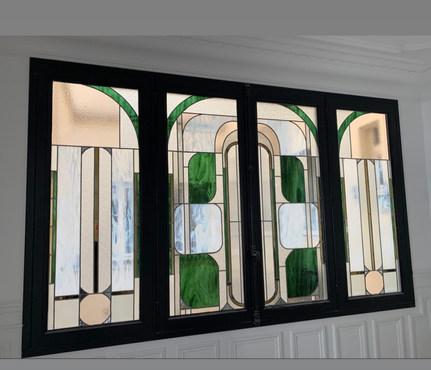 Création contemporaine en décoration intérieureParticulier  Paris 7