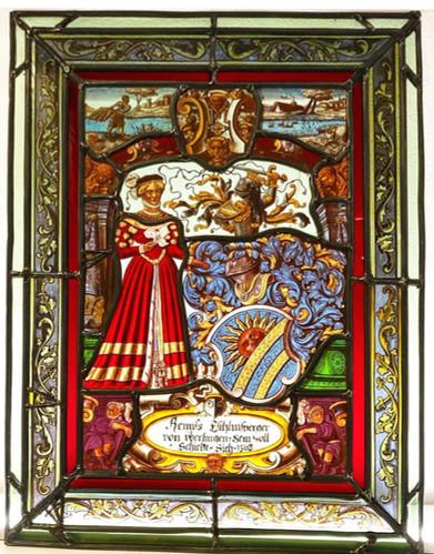 Restauration Vitrail XVIème s.