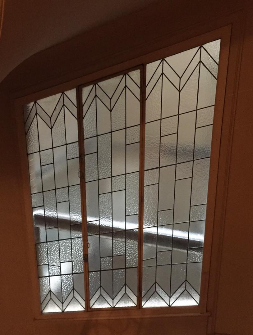 Restauration cage d'escalier Art Déco