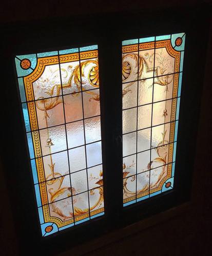Restauration vitraux de J.Dénier 1903