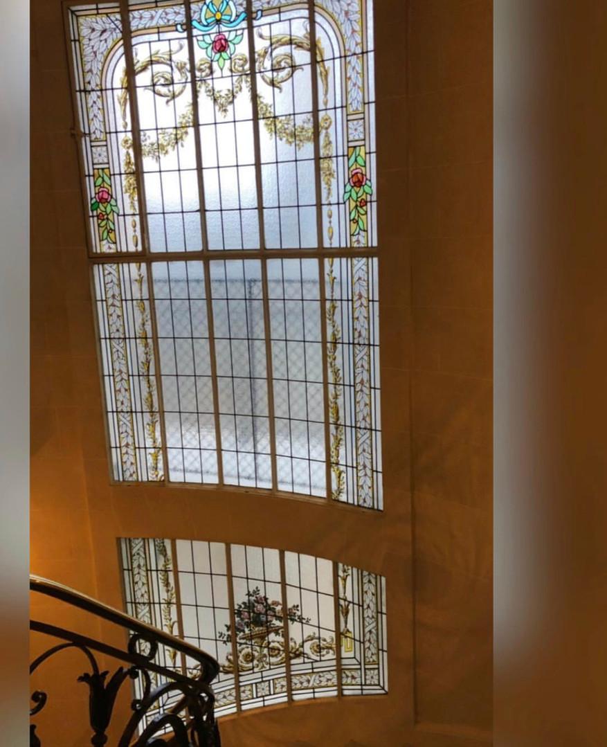 Vitraux de Restauration vitraux de Charles Champigneulle 1905