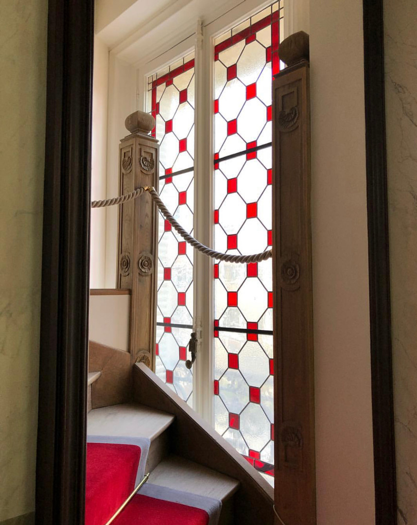 Restauration vitraux Hotel particulier du XVI-XVIIème s