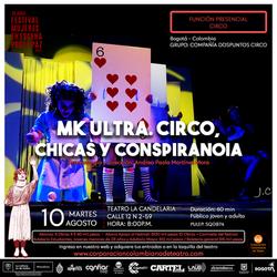 Mk Ultra (2021) Festival mujeres en escena