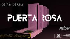 Puerta Rosa! Nuevo espectáculo de la Compañía Dospuntos Circo. A punto de estrenar!