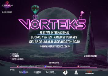VORTEKS Festival está por comenzar!