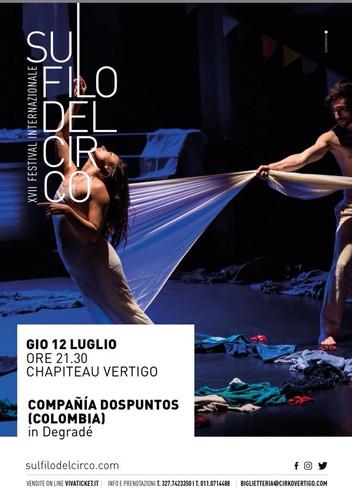 Degradé en Festival Sul filo del cirko. Italia