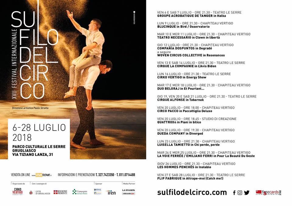 """""""Degradé"""" (2018) Sul filo del circo"""