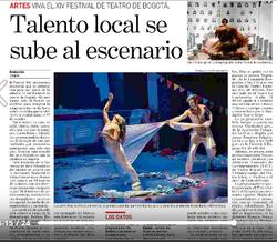 Degradé. Festival teatro de Bogotá