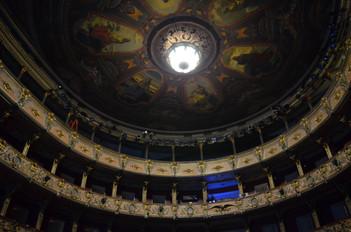 Entrópico en el Teatro Colón de Bogotá. Reconocimiento a números de circo.
