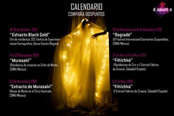 Calendario 2019 - 2020!