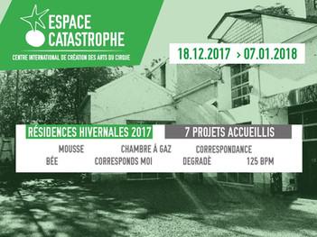 Degradé en Espace Catastrophe (BE). Centre international de crèation des arts du cirque en Bélgica