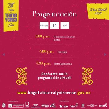 Compañía Dospuntos Circo en el XVI Festival de teatro y circo de Bogotá