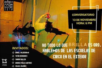 Invitados en Charla sobre escuelas de circo en el exterior. La ventana producciones, Bogotá
