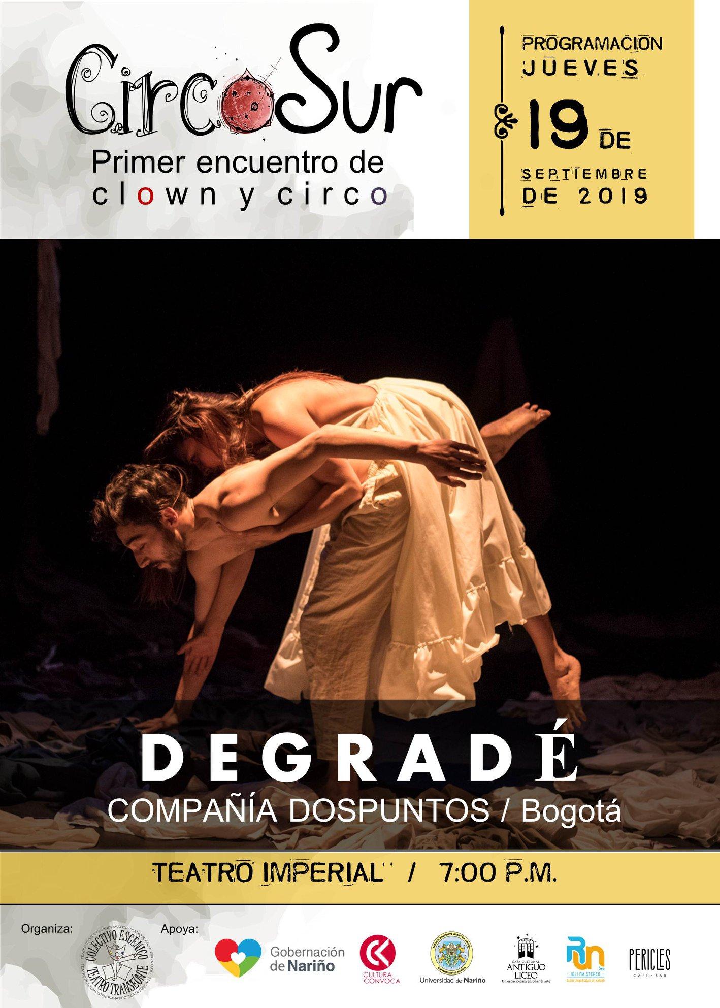 Encuentro Circo sur, Pasto (2019)