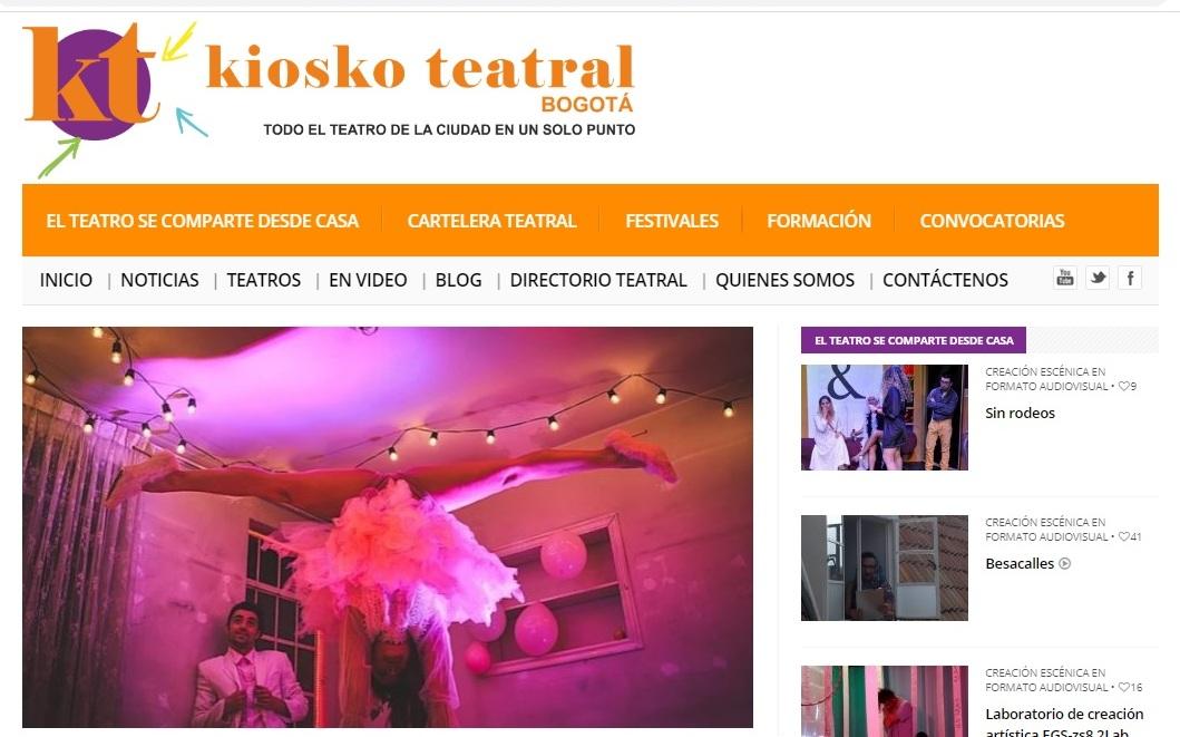 Kiosko Teatral. Puerta Rosa