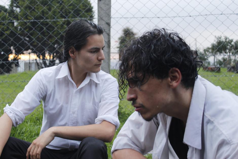 Sergio Moreno y Giovanny Bernal