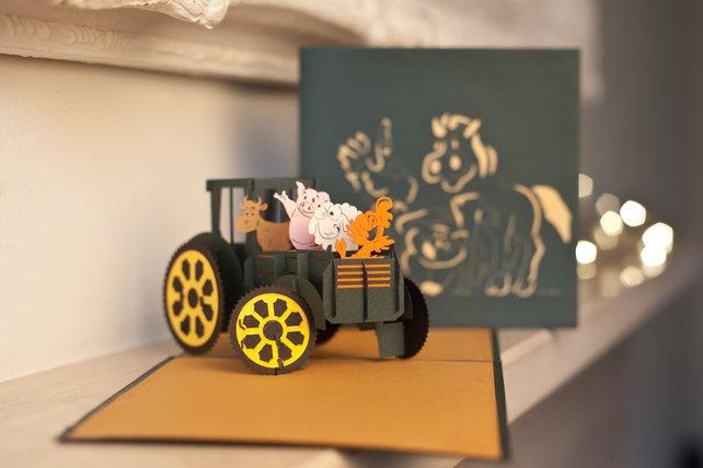 Cardology Farm Yard Animals Greetings card