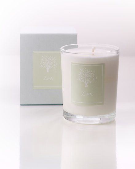 'Love' Candle