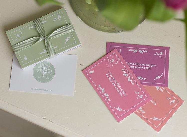Pregnancy Affirmation Cards