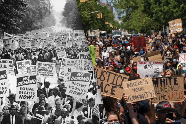 Protests for Justice, Then & Now
