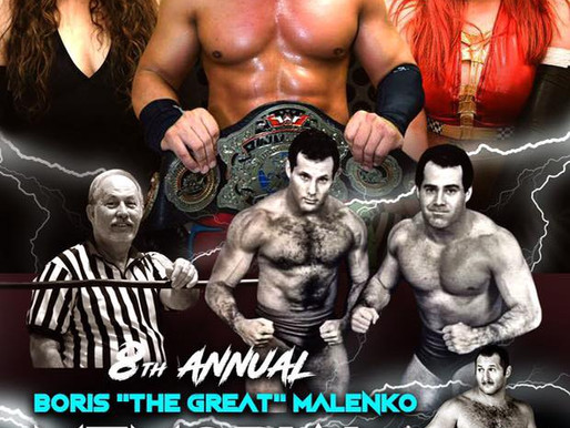 8th Annual Malenko Memorial Cup Event Results