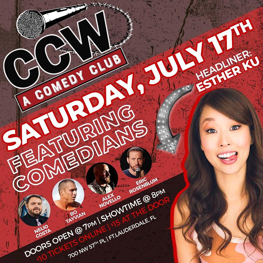 A Comedy Club Presents: Esther Ku