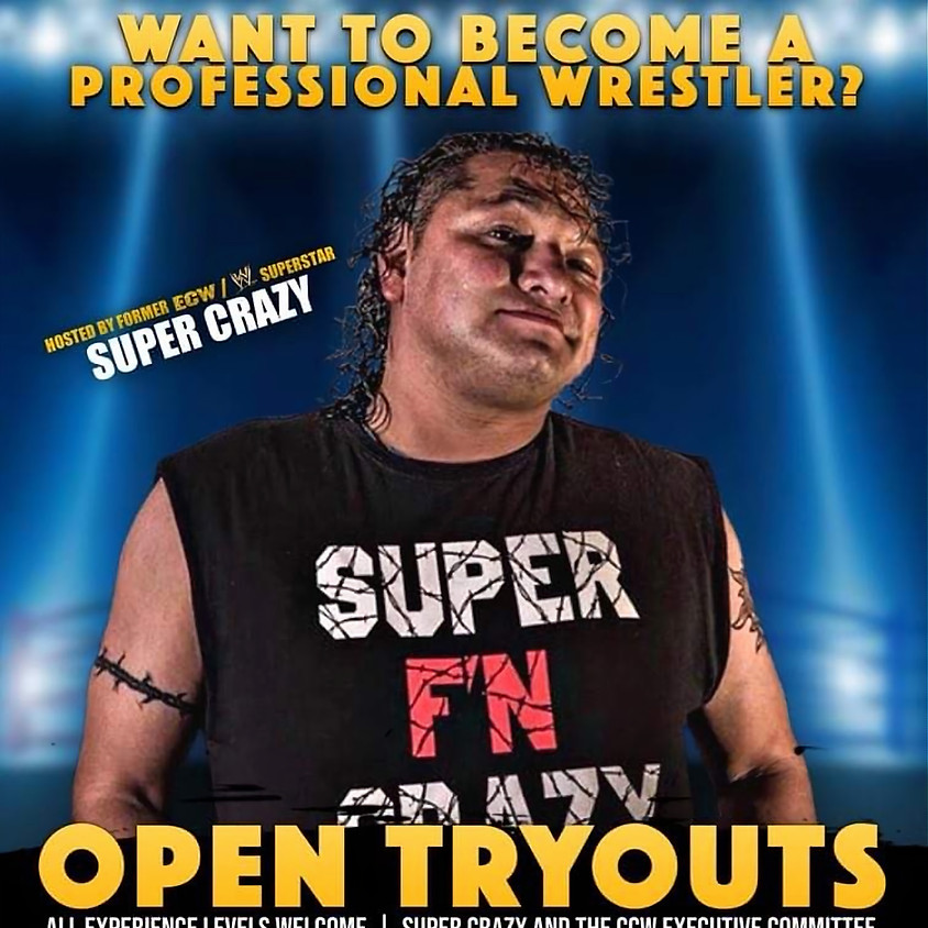 CCW Open Tryouts and Scholarship with Super Crazy