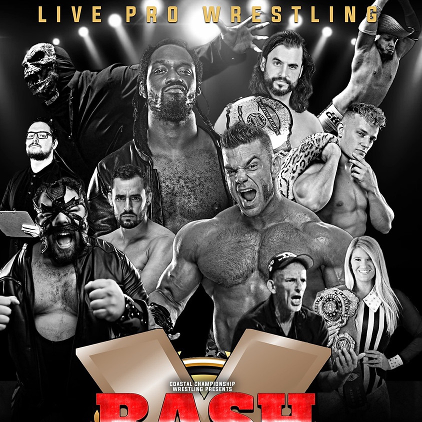 CCW Presents: Bash at the Brew 10 feat. Rich Swann and Brian Cage.