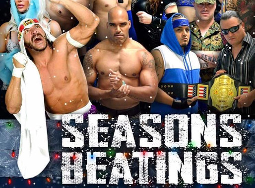 CCW Seasons Beatings 2019 Match Results