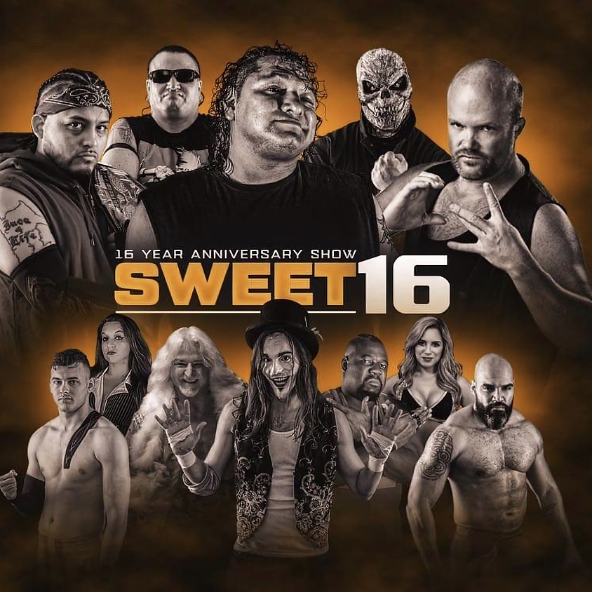 CCW Presents: Sweet 16 (16 Year Anniversary Show)