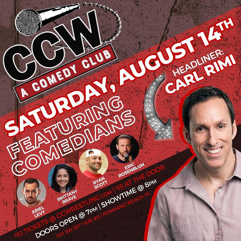 A Comedy Club Presents: Carl Rimi.