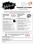 Summer 2018 Art Camp