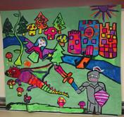 Fantasy Mural