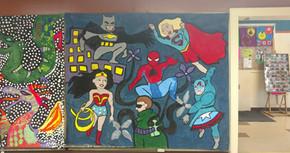 Comic Camp Mural