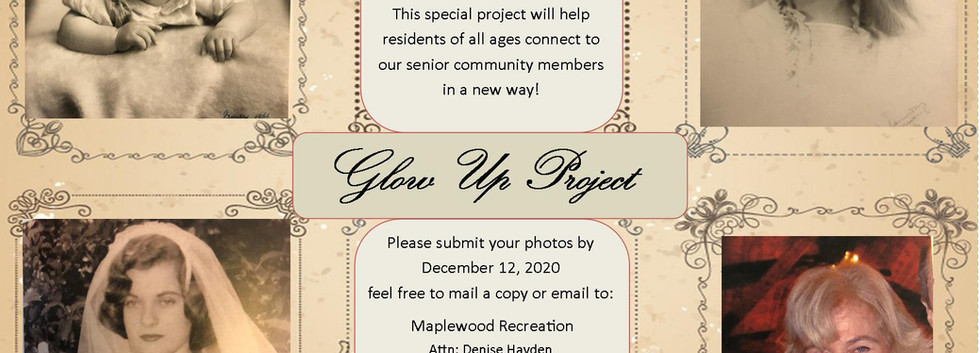 Senior Glow Up- Progression Pics Project