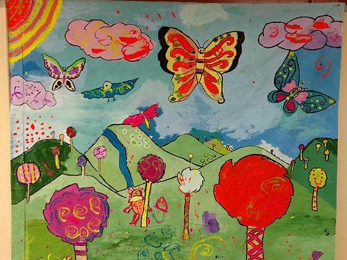 Lorax Mural