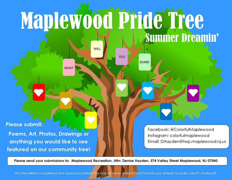 Maplewood Pride Tree- June Community Pro