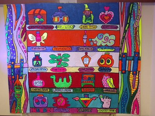 Potion Mural